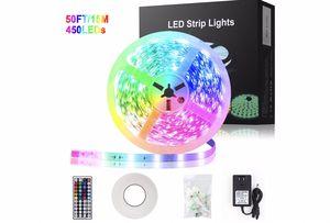 50ft LED Strip lights for Sale in Lynnwood, WA
