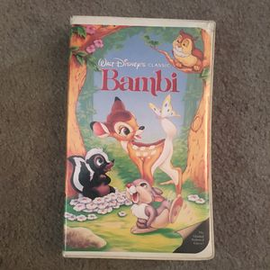 Bambi VHS for Sale in Saint Petersburg, FL