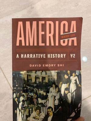 America A Narrative History V2 for Sale in Westchase, FL
