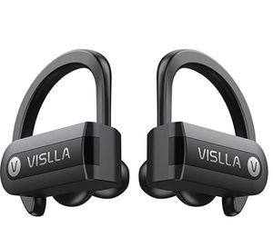 Wireless Earbuds, Vislla 5.0 Bluetooth Sport Headphones Stereo Bass Sound TWS Ear Buds Over Ear Sweatproof Headset 8 Hours Playtime Wireless Earphone for Sale in Paradise, NV