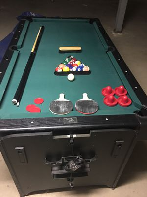 Game Table: Pool, Ping Pong & Air Hockey for Sale in Great Neck, NY