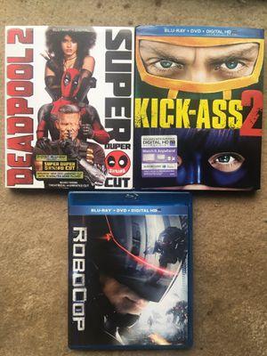 Deadpool 2 Blu-Ray Bundle for Sale in Fairfax, VA