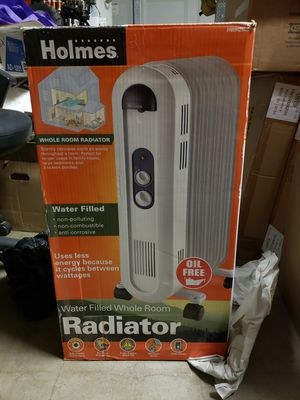 Holmes, water filled radiator heater for Sale in Dinuba, CA