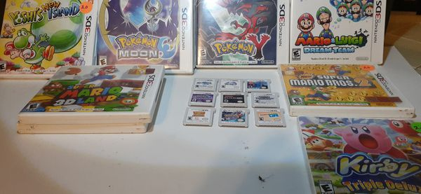 Nintendo 3ds games ALL GAMES ARE DIFFERENT prices