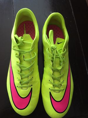 MERCURIAL VELOCE 2 SOCCER CLEATS SIZE 9.5 for Sale in Raleigh, NC