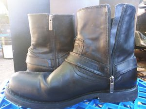 Harley davidson riding boots for Sale in Dallas, TX
