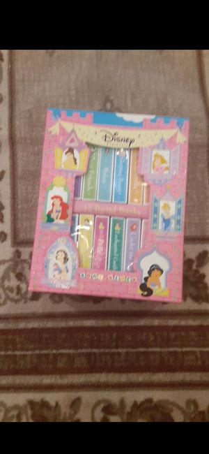 New 12 board books of Disney princess for Sale in South Houston, TX
