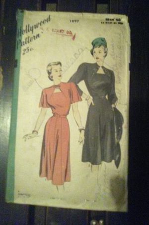 1940's Cocktail Dress pattern for Sale in Jackson, MS