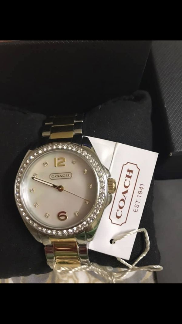 New coach ladies watch click on my emoji profile picture choose my offers for more listings interested message me