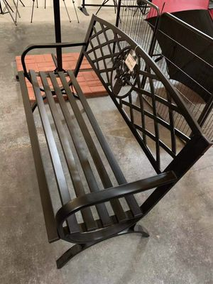 New in box $70 each 500 lbs weight capacity 50x24x34 inches tall outdoor patio garden steel bench chair banco al aire libre for Sale in Los Angeles, CA