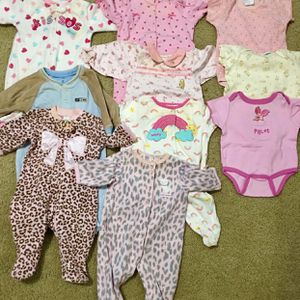 Baby Onesie And Full Body Playsuits, 3-6 Months for Sale in Austin, TX