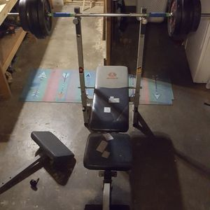 Adjustable weight bench for Sale in Bremerton, WA