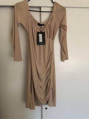 Nude Bardot dress from PLT for Sale in Compton, CA