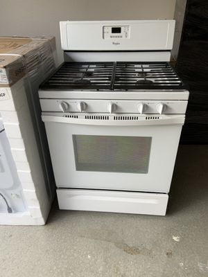Whirlpool white Stove, Dishwasher and Over the range Microwave for Sale! for Sale in Rancho Cucamonga, CA