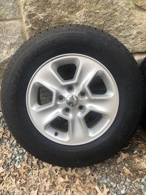 Jeep Grand Cherokee rims, Grabber HTS tires for Sale in Cranston, RI