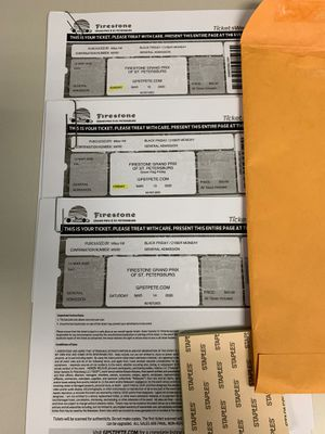 St. Pete Grand Prix tickets for Sale in Riverview, FL