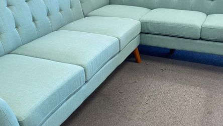 New Laguna Mid Modern Century Sectional Couch Only $50 Down Payment for Sale in Torrance,  CA