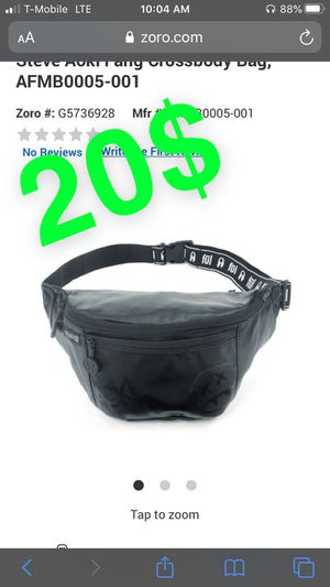 Steve Aoki pouch black and black and neon for Sale in Houston, TX