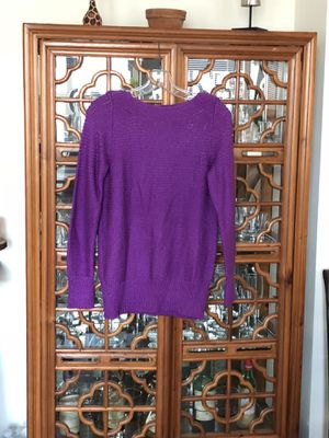 Calvin Klein Tunic Sweater with zipper details for Sale in Arlington, VA