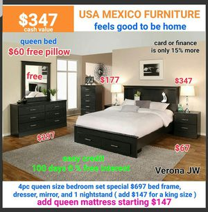 Queen bed frame for Sale in Ontario, CA