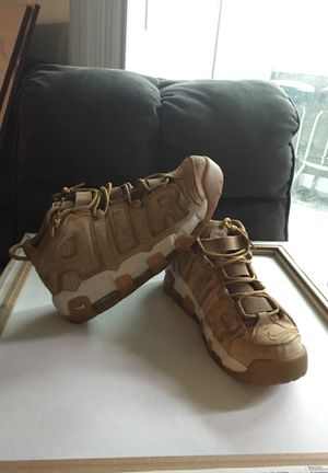Nike Air uptempo beige for Sale in Brighton, CO
