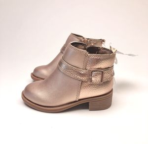 Toddler Girl Size 5 Gold Ankle Boot for Sale in Burnsville, MN
