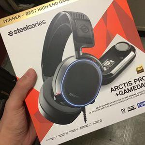 Steelseries Artic Pro + Gamedac Gaming Headset for Sale in Los Angeles, CA