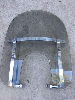Harley Davidson motorcycle windshield plus bracket for parts for Sale in Phoenix, AZ