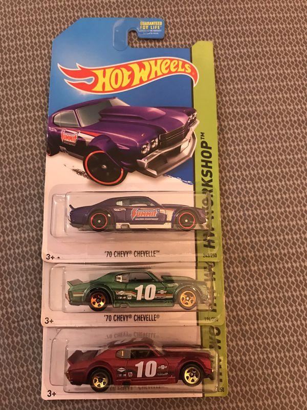 Hot Wheels Chevelle lot