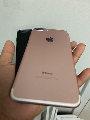 IPhone 7 plus 128gb unlocked warranty each $299 for Sale in Malden, MA