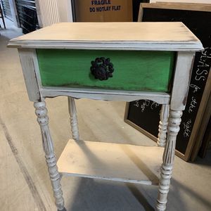 Unique Antique Solid Wood End Table for Sale in Arlington, VA
