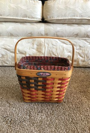 Longaberger basket, 25th anniversary for Sale in Beaverton, OR