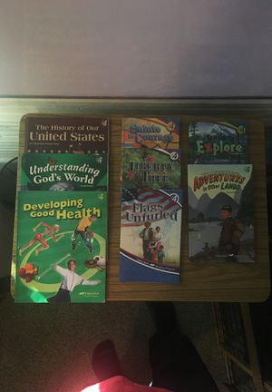 Abeka 4th Grade Readers and Textbooks for Sale for sale  Great Falls, SC