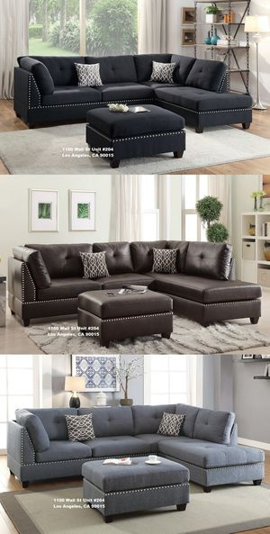 Always Shop @ A Real Store 😉 Don't Get Ripped Off With Phony Ads - Couch Sofa Sectional All 3 On Display! for Sale in Los Angeles, CA