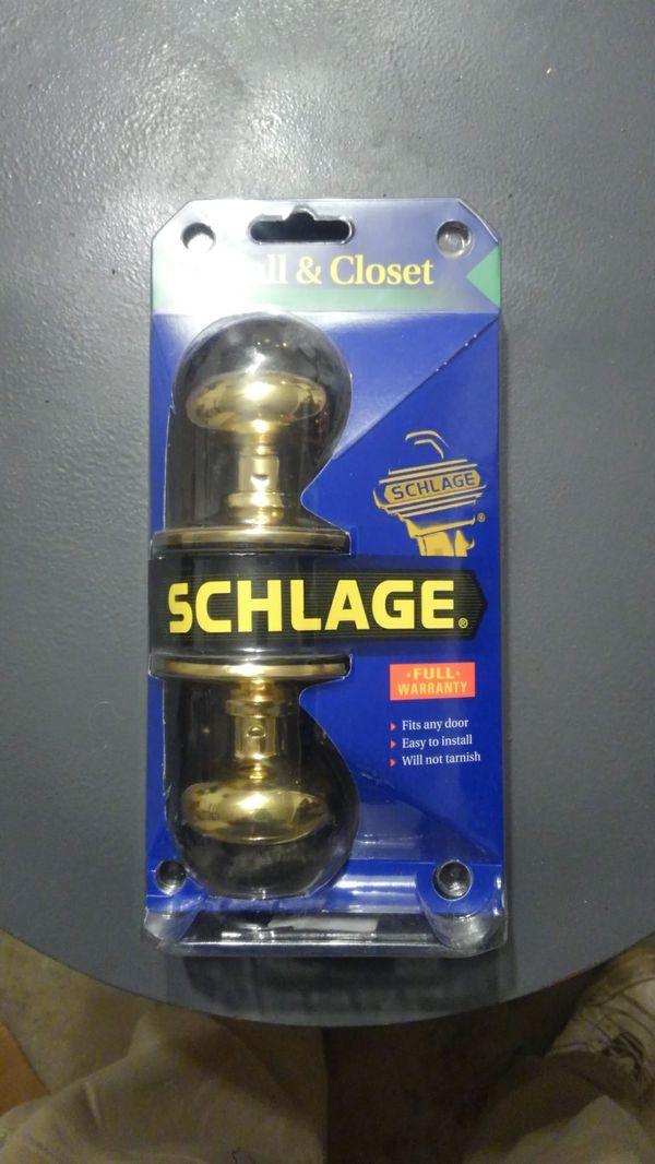SCHLAGE Hall and Closet