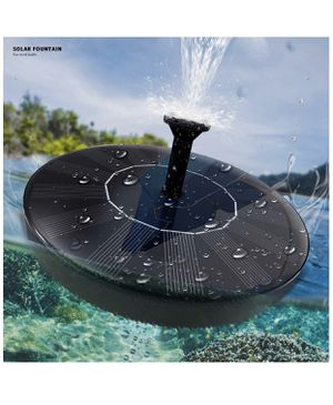 Solar Fountain Water Pump for Bird Bath,New Upgraded Mini Solar Powered Fountain Pump 1.5W Solar Panel Kit Water Pump,with 4 Different Spray Pattern for Sale in Westminster, CA