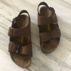Birkenstock Milano sandals size 6 for Sale in Silver Spring,  MD