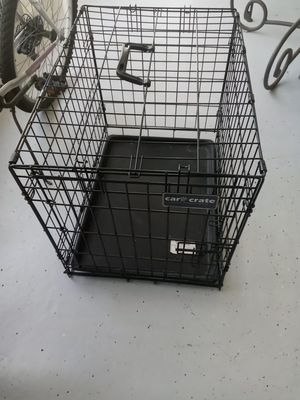 Car crate small pet cage for Sale in Riverview, FL