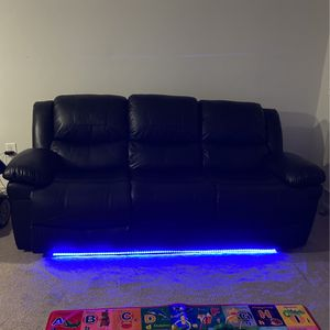 Brand New LED RECLINER COUCH for Sale in Duluth, GA