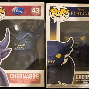 Funko Pop Chernabog Disney 43 Rare out of print Fantasia with new Chernabog991 for Sale in Yorba Linda, CA