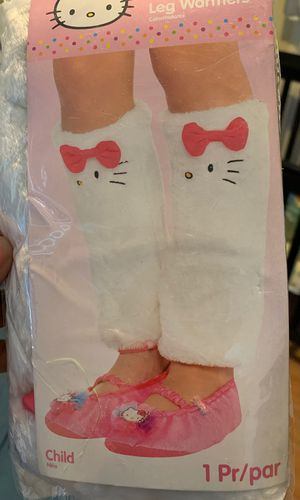 Hello kitty leg warmers girls for Sale in East Haven, CT