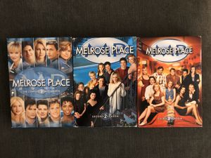 Melrose Place Season 1, 2 & 3 for Sale in San Jose, CA