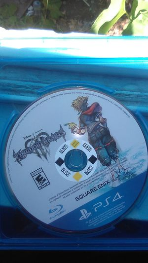 PS4 Kingdom hearts 3 for Sale in Richmond, CA