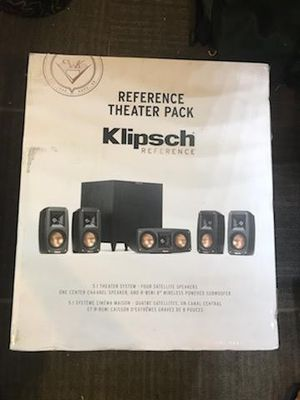 Klipsch Reference Theater Pack 5.1 CH Surround Sound System Speakers Subwoofer for Sale in San Diego, CA