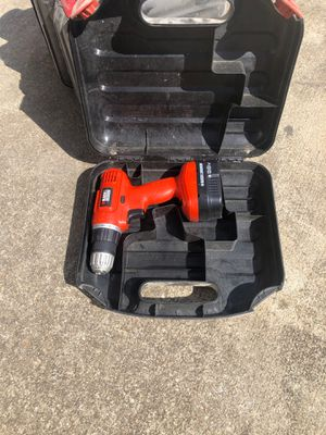 Black and decker circular saw, jig saw, mouse sander and drills ( with cases) for Sale in Douglasville, GA