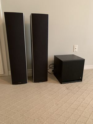 Speakers and Powered sub for Sale in Houston, TX