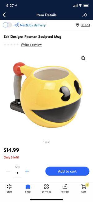 Pacman mug for Sale in Largo, FL
