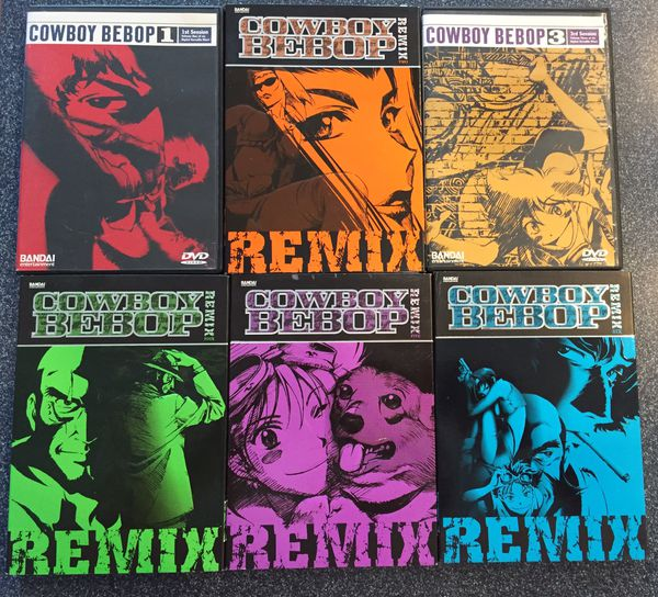 Cowboy Bebop Full Series DVDs