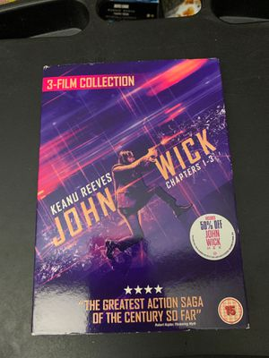 John Wick Trilogy (Chapters 1-3) (Blu-Ray) (Brand New) for Sale in Fairfax, VA