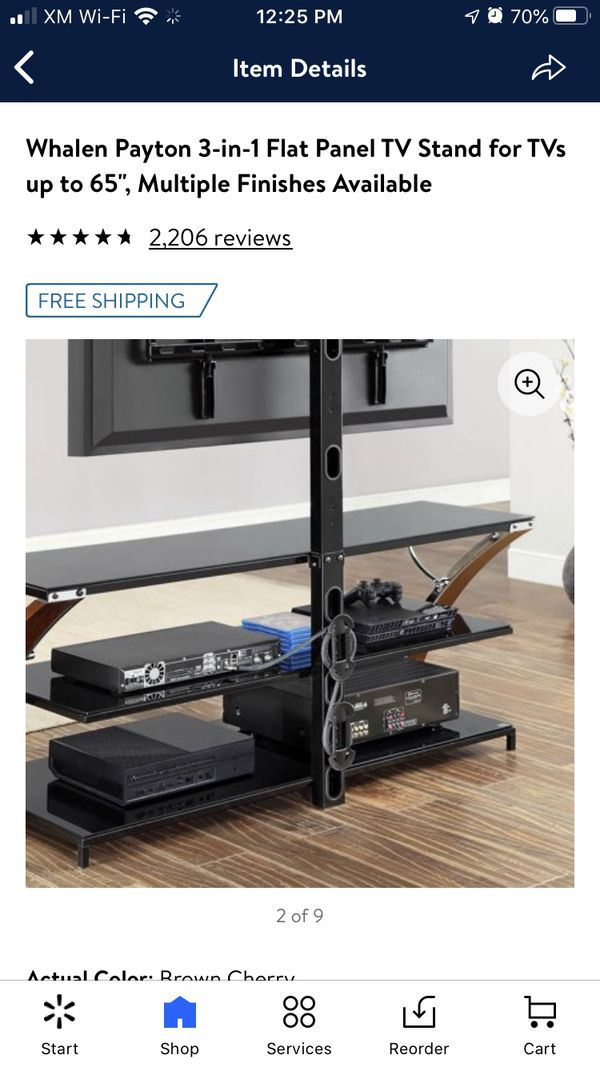 Swivel TV stand/mount